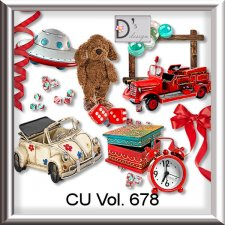 Vol. 678 Toys Mix by Doudou Design