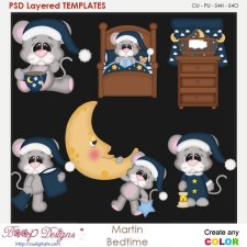 Martin Bedtime Layered Element Templates