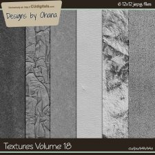 Paper Textures Vol 18 - EXCLUSIVE Designs by Ohana