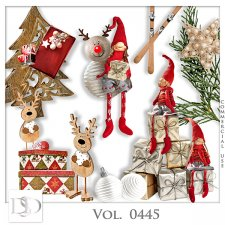 Vol. 0445 Winter Christmas Mix by D's Design