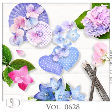 Vol. 0628 Nature Floral Mix by D's Design