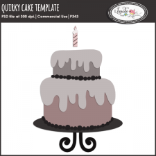 Quirky cake template Lilmade Designs