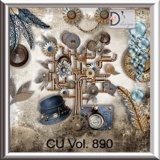 Vol. 890 Steampunk Mix by Doudou Design