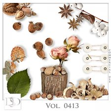 Vol. 0412 to 0416 Nature Mix by D's Design