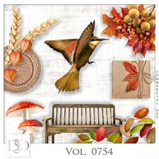 Vol. 0754 Autumn Nature Mix by D's Design