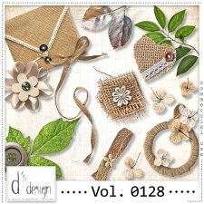 Vol. 0128 Natural Mix by Doudou Design