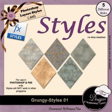 Grungy STYLES 01 by Boop Designs