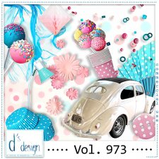 Vol. 973 Fifties Mix by Doudou Design