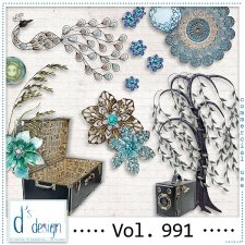 Vol. 991 Vintage Mix by Doudou Design