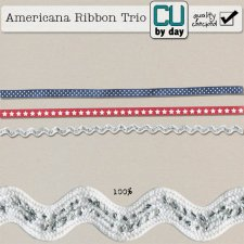 Americana Ribbon Trio - CUbyDay EXCLUSIVE