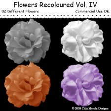 Flowers Recoloured Vol.IV by Cida Merola