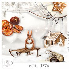 Vol. 0576 Winter Mix by D's Design