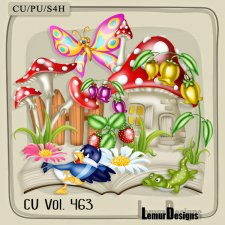 CU Vol 463 Summer Forest by Lemur Designs