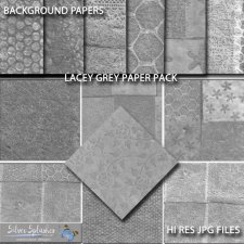 EXCLUSIVE Lacey Grey Papers by Silver Splashes