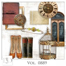 Vol. 0889 Vintage Mix by D's Design
