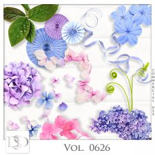 Vol. 0626 Nature Floral Mix by D's Design