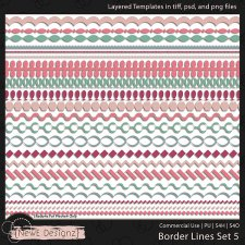 EXCLUSIVE Borderlines Set 5 by NewE Designz