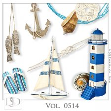 Vol. 0514 Summer Sea Mix by D's Design