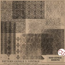Pattern Genius Paper Volume Five by Mad Genius Designs