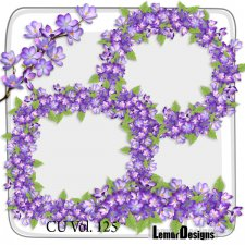 CU Vol 125 flowers by Lemur Designs