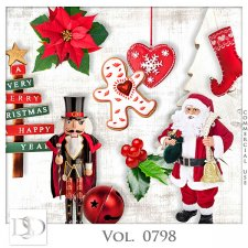 Vol. 0798 Winter Christmas Mix by D's Design