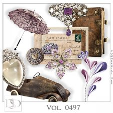Vol. 0497 Vintage Mix by D's Design