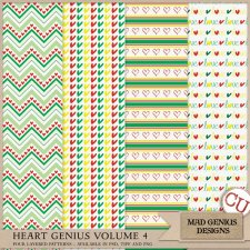 Heart Genius Volume Four by Mad Genius Designs