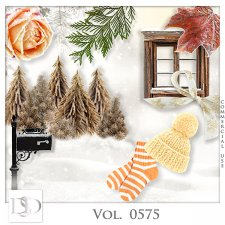 Vol. 0574 to 0578 Winter Mix by D's Design