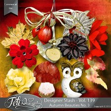 Designer Stash Vol 139 - Autumn Beauties No 3 by Feli Designs
