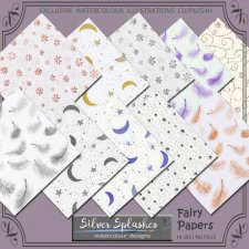 EXCLUSIVE Fairy Papers by Silver Splashes