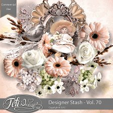 Designer Stash Vol 70 - CU by Feli Designs