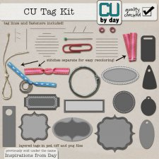 Tag Making Kit - CUbyDay EXCLUSIVE