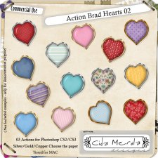 Brad Hearts 02 Action by Cida Merola