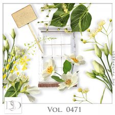 Vol. 0469 to 0471 Spring Nature Mix by D's Design