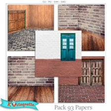 Pack 93 papers by Kastagnette