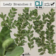 Leafy Branches 2 - CUbyDay EXCLUSIVE