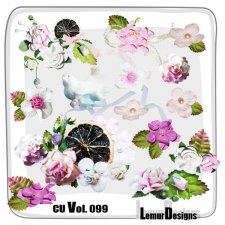 CU Vol 099 Flowers by Lemur Designs