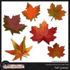 EXCLUSIVE Fall Leaves by NewE Designz
