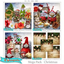 Mega pack Christmas by Kastagnette
