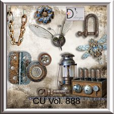 Vol. 888 Steampunk Mix by Doudou Design