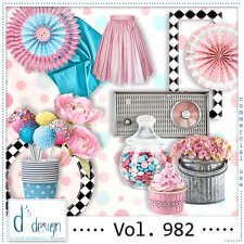 Vol. 982 Fifties Mix by Doudou Design