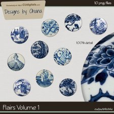 Flairs Vol 1 - Asian EXCLUSIVE Designs