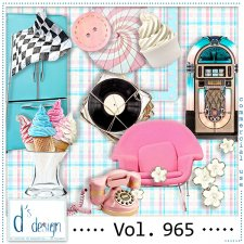 Vol. 965 Fifties Mix by Doudou Design