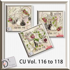 Vol. 116 to 118 Element BUNDLE by Doudou Design