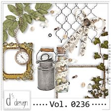 Vol. 0236 Vintage Mix by Doudou Design