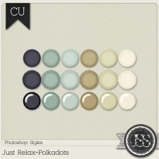 Just Relax Polkadots PS Styles by Just So Scrappy