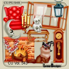 CU Vol 543 Halloween by Lemur Designs