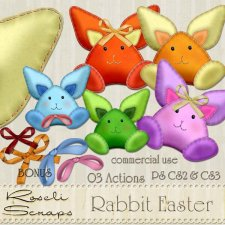 Action - Rabbit Easter by Rose.li