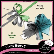 Pretty Bows 07 byBoop Designs