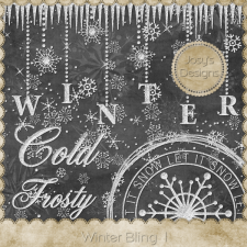 Winter Bling 1 by Josy